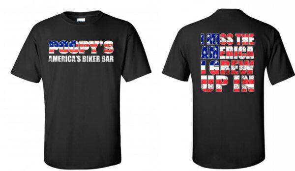 T-SHIRT-MY AMERICA-BLACK