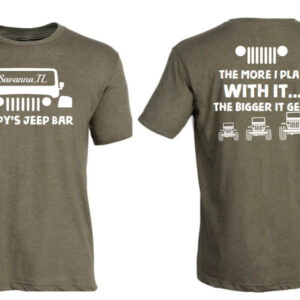 Poopy's Jeep shirt